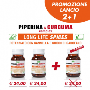 2+1 PIPERINA & CURCUMA LONG LIFE